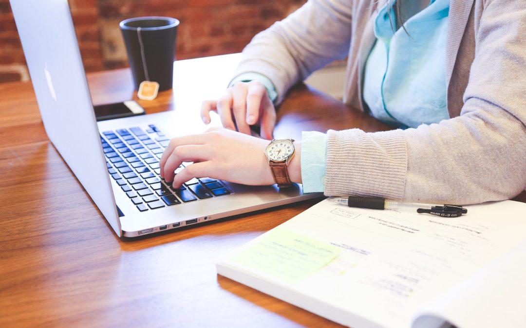 2.krok kzískávání informací: efektivně psát