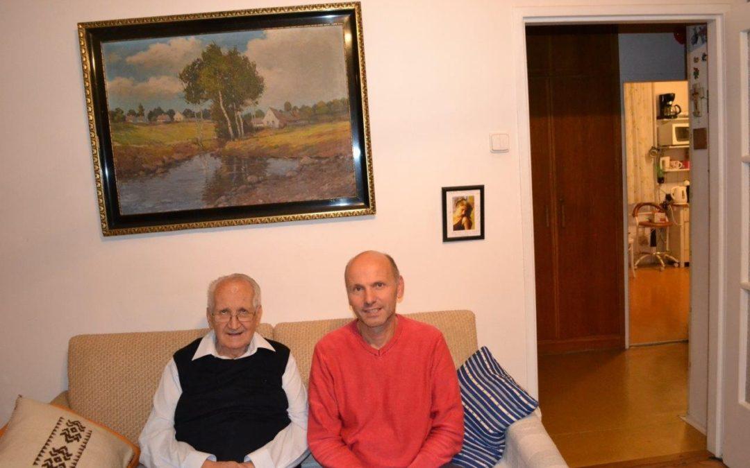 """Pan docent Milan Špála (1930 – 2018) se už také """"připojil květšině"""""""